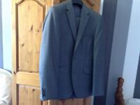 Grey marks and Spencer's suit