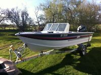 Open Bow Sylvan Boat for sale