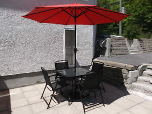 ENSEMBLE DE PATIO\TABLE\CHAISE\BALANCOIRE \OUTIL\AUTO\VTT\VR\VTT