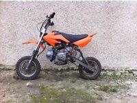 110cc explorer pit bike