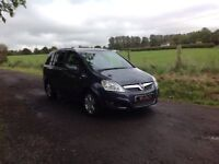 24/7 Trade sales NI Trade Prices for the public 2008 Vauxhall Zafira 2.2 Design Automatic 7 seater