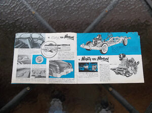 1951 Mercury dealer showroom catalog London Ontario image 4