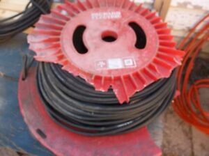 LARGE ROLL OF 2 WIRE 18 GAGUE OIL RESISTANCE CABLE