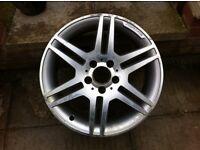 """Mercedes AMG 17""""alloy wheel ( 1 )"""