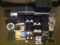 Playstation 2,3,4 console and controller parts and games