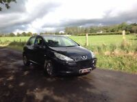 24/7 Trade sales NI Trade prices for the public 2006 Peugeot 307 1.6 S Black 5 door full mot