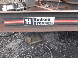 1998 Hudson 20ft 7 Ton Equipment Trailer