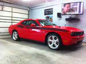 2010 Dodge Challenger Red Coupe (2 door)