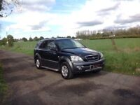 24/7 Trade sales NI Trade Prices for the public 2006 Kia Sorento 2.5 XE Black Full mot