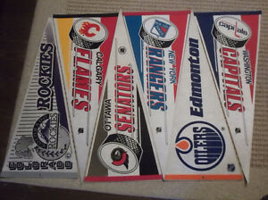 NHL Team pennants $3 EACH obo Kingston Kingston Area image 1