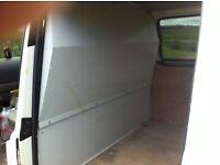 Vw transporter t5 van guard steel bulk head