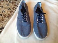 H&M men's trainers size 8 used £3