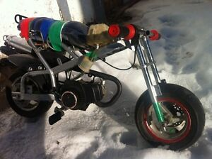 Custom pocket bike!!!!