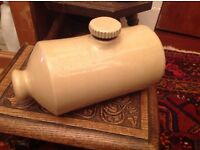 Antique pearsons hot water bottle