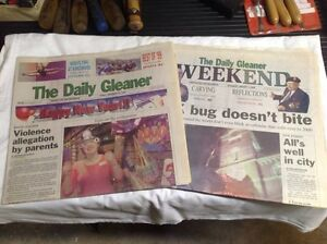Daily Gleaner millennium editions
