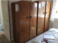 Gents & ladies wardrobe with dressing table ,
