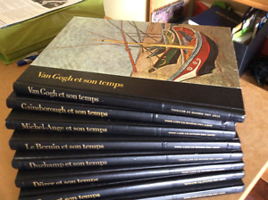 21 livres d'art, Collection Time Life Le monde des arts
