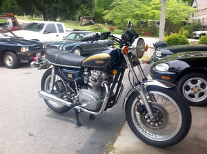 Yamaha XS650 stock parts for sale.