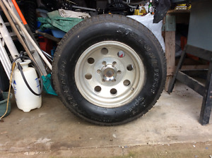 American Eagle Rims, Cooper Discover Tires