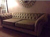 Neutral colour settees for sale