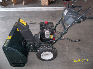 REDUCED 150.00 MUST SELL!!! Yardworks snowblower