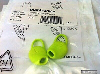 Ersatzteil: Original Plantronics BackBeat FIT Earplugs, Grün / Green, 202122-01 ()