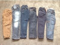 Boys jeans/chinos bundle, age 4-5