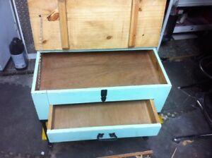 Wood & Metal Side Table