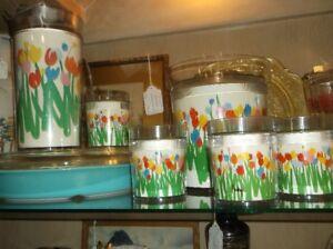 Audrey tulips drink set