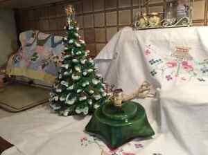 Vintage Ceramic Christmas Tree Strathcona County Edmonton Area image 3