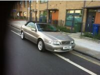 2002 VOLVO C70 CONVERTIBLE AUTOMATIC 2 OWNERS MOT OCT 2016 DRIVES WELL POWER HOOD