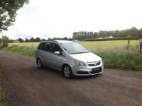 24/7 Trade sales NI Trade Prices for the Public 2007 Vauxhall Zafira 1.6 Energy Silver 7 Seater