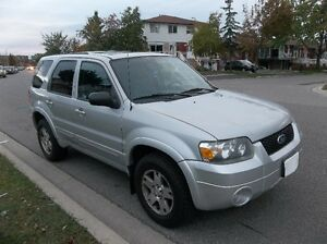2005 Ford Escape Limited SUV, Crossover (Safety and Emission)