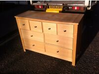 IKEA style chest of drawers