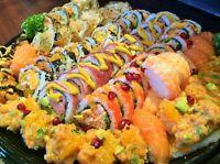 SUSHIS Á DOMICILE-L'expérience ultime en sushis à domicile.