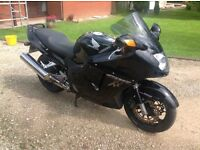 Honda Blackbird with New MOT