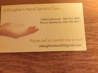A Daughter's Hand Senior Services - adaughtershand.com
