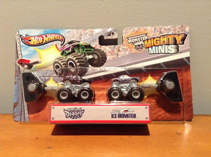 HOT WHEELS MONSTER JAM MIGHTY MINIS.....BRAND NEW! West Island Greater Montréal image 4