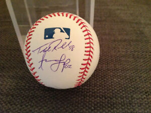 Official MLB signed by Toronto Blue Jays Loup, Pompey, Redmond..