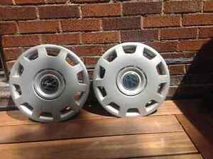 Deux enjoliveurs (caps) Volkswagen
