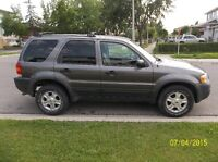 2004 Ford Escape XLT SUV, Crossover(Safety and Emission)