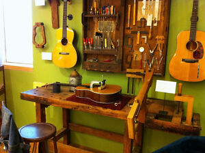 COMPLETE GUITAR ADJUSTMENTS & CLEANING ~ SAME DAY!