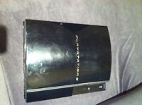 PS3 CONSOLE WITH RED LIGHT ERROR BUT IS PS2 BACKWARD COMPATIBLE!