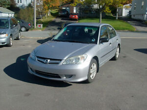 2005 HONDA CIVIC DX-G AUTOMATIC PRIVATE SALE ONLY $3300.
