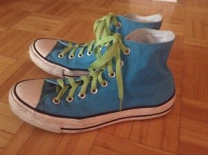 ALL STAR CONVERSE Blue Shoes/Sneakers/Chaussures/Souliers 8.5