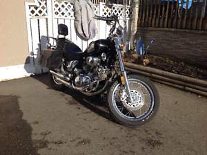 Yamaha, Virago with Trailer and 2 Helmets For Sale