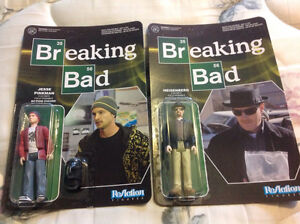Breaking Bad & The Fifth Element Figures 3 3/4