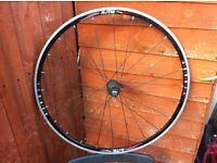 Racing bike rear wheel