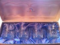 For crystal tumbler glasses new