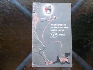 1953 Ford Accessories Catalog ..... $30.00
